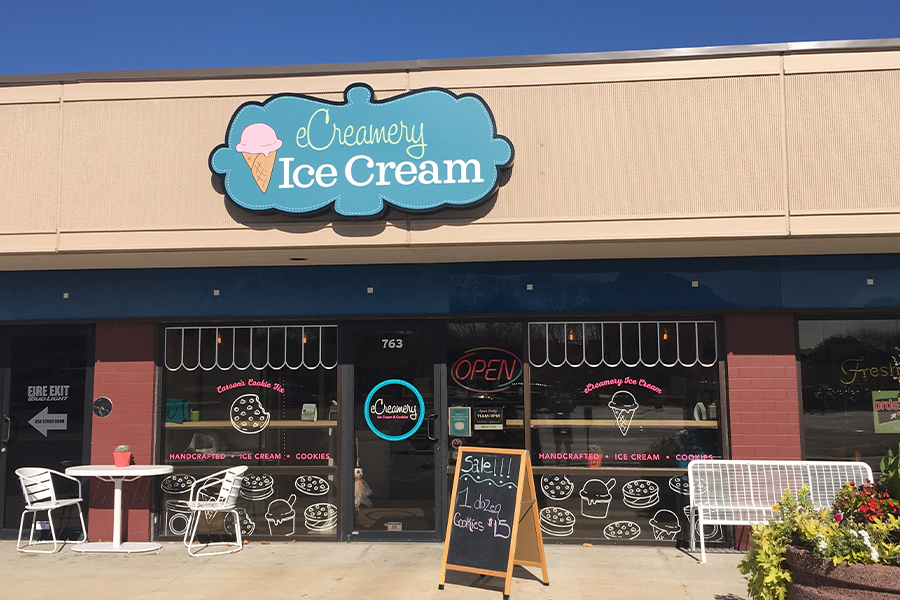 eCreamery recently opened a location in West Omaha in addition to its location in Dundee.