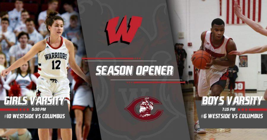 Westside vs Columbus | Westside Varsity Basketball Season Opener