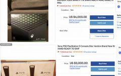 Consoled on auction on Ebay