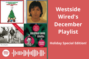 The December playlist features all the winter holiday classics!