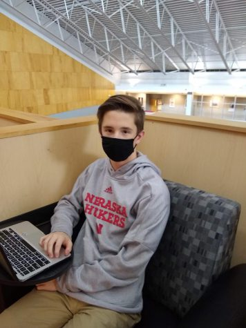 """I kind of liked the 50% [capacity] and, you know, I liked being able to work from home and have that at-home feeling as well as still coming, seeing some of my friends,"" sophomore Nathan Swanson."