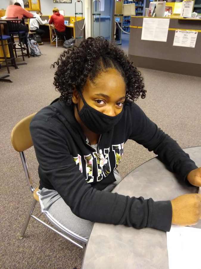 """""""I didn't really like it because it was just confusing at times, and then I didn't know what to do at times, so I didn't like it,"""" junior MyKayla Lee-Ware"""