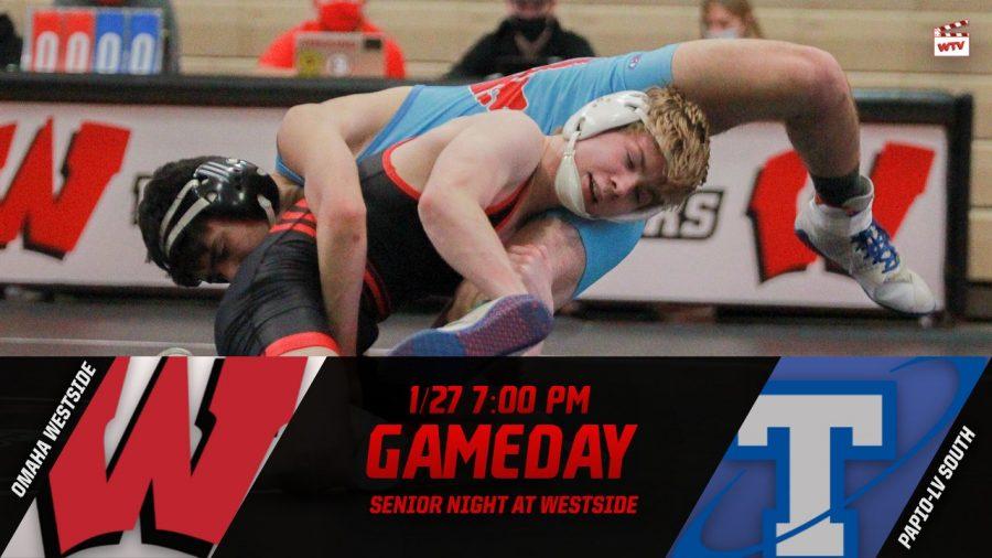 Westside vs Papillion-La Vista South | Westside Varsity Wrestling