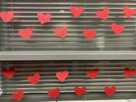 "Student Council Creates ""Hearts"" to Recognize Every Student"