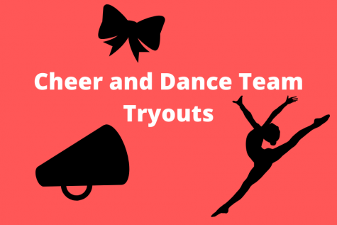 Cheer and Dance Team will be holding their tryouts for next school year.
