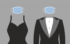 Some changes to this year's Prom include  requiring everyone to wear masks and changing the location to the football field.
