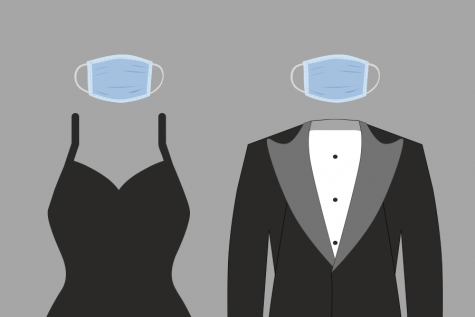 Some changes to this years Prom include  requiring everyone to wear masks and changing the location to the football field.