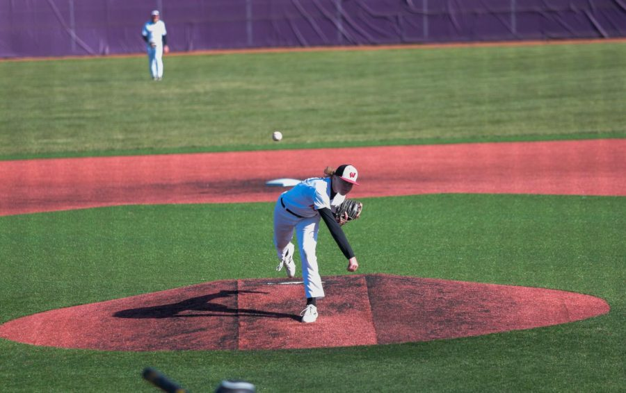 Junior Ty Madison leads the Westside pitching staff with three wins. With just over a 4 ERA Madison has been known for his lights-out curveball. - Photo Zoe Gillespie