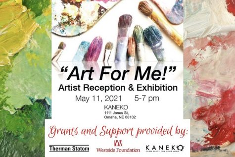 Student artwork from the Adapted Art class will be on display at Kaneko.