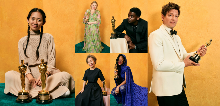 Various winners who received Oscars at this years Academy Awards.