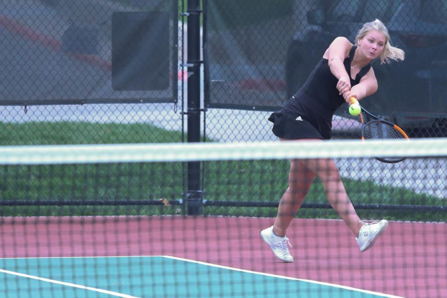 Westside Girls Tennis Battles Questions of Weather at State Tournament