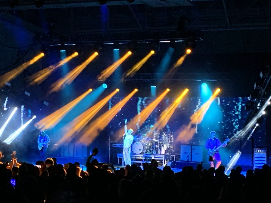 311 features the talents of lead singer Nick Hexum, guitarist Tim Mahoney and drummer Chad Sexton, who all attended Westside High School.