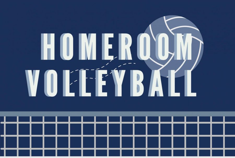Annual homeroom volleyball tournament allows students to bond and take a break from the school day.