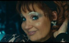 Tammy Faye Messner (Chastain) in all of her signature attire.