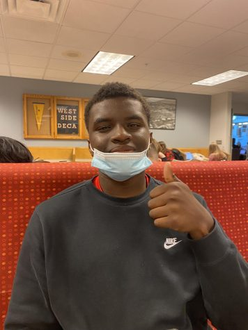 """""""I think it's going to be way different because it might be hot or might even be cool. I feel like a lot of people will show up, but they won't stay for long,"""" junior Kedar Dailey."""