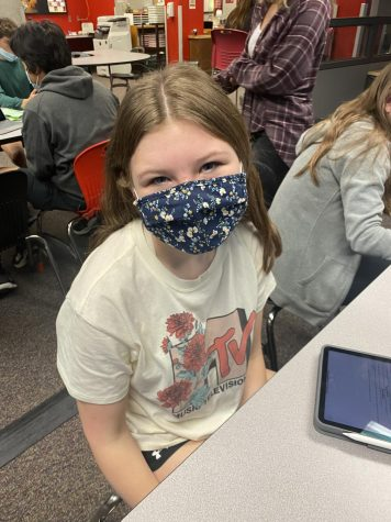 """""""My favorite part was when we all did the Cupid Shuffle. I thought there would be food and stuff there, but it was really fun,"""" sophomore Halle McCall."""