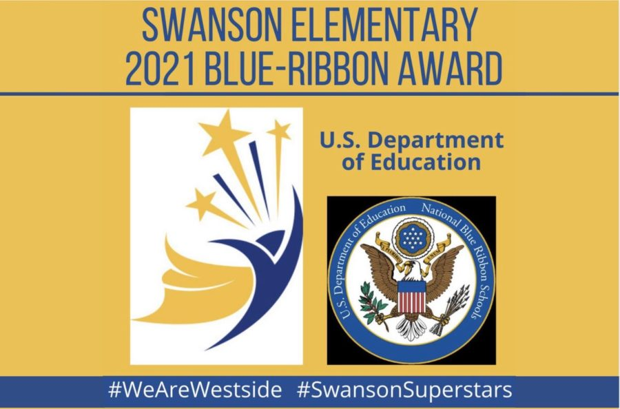 Swanson Elementary recently received the Blue Ribbon Award from the U.S. Department of Education.