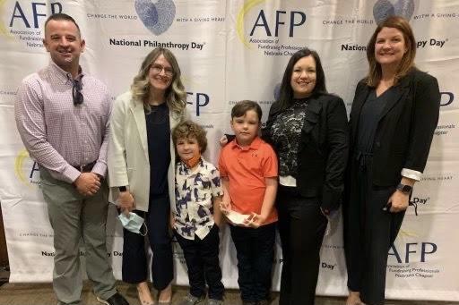 Oakdale Second Grader Named Outstanding Student in Philanthropy