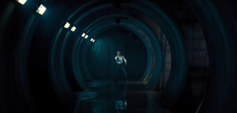 Shot of Bond (Craig) shooting directly into camera is reminiscent of each 007 film opening.