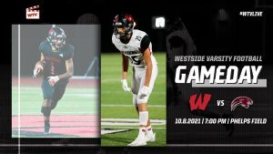 Westside continues their now 18 game winning stream and fans can watch live at home this Friday night football matchup