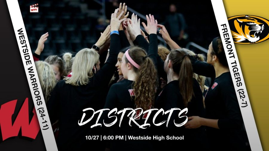 Fremont vs Westside | A-7 Volleyball District Final